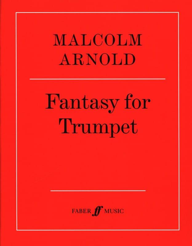 Malcolm Arnold - Fantasy for trumpet opus 100 - Partition - di-arezzo.co.uk
