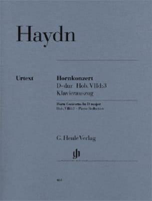 HAYDN - Konzert Für Horn D-Dur - Partition - di-arezzo.es