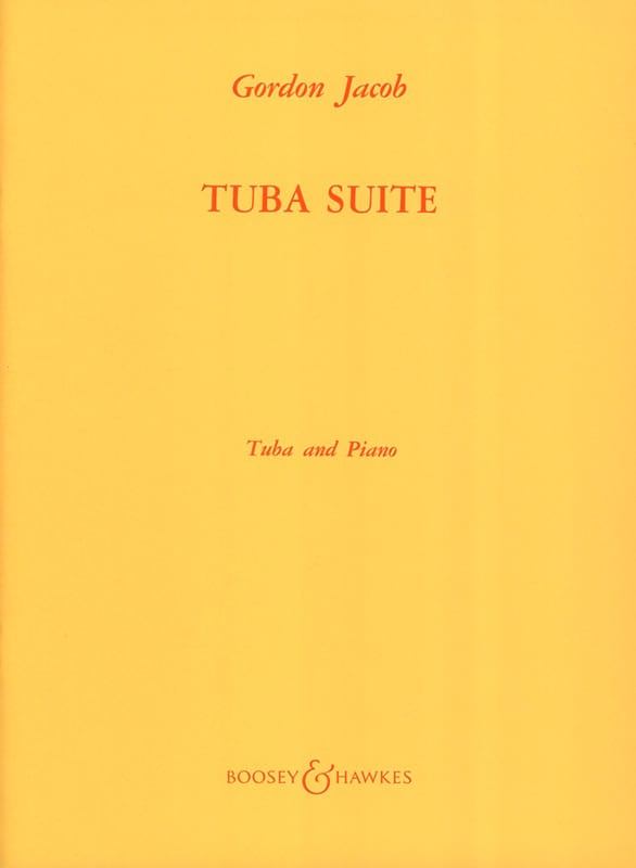 Gordon Jacob - Tuba Suite - Partition - di-arezzo.com
