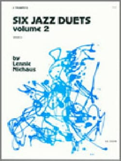 Lennie Niehaus - Six Jazz Duets Volume 2 - Partition - di-arezzo.com