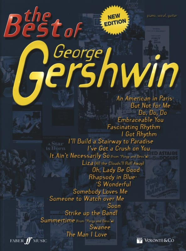George Gershwin - The Best Of George Gershwin - Partition - di-arezzo.co.uk
