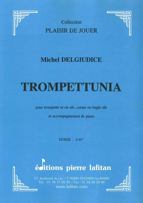 Trompettunia - Michel Del Giudice - Partition - laflutedepan.com