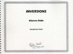 Inversions - Etienne Rolin - Partition - Saxophone - laflutedepan.com