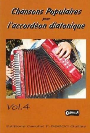 Chansons Populaires Pour L' Accordéon Diatonique Volume 4 - laflutedepan.com