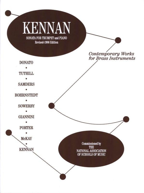 Sonata for trumpet - Kent Kennan - Partition - laflutedepan.com