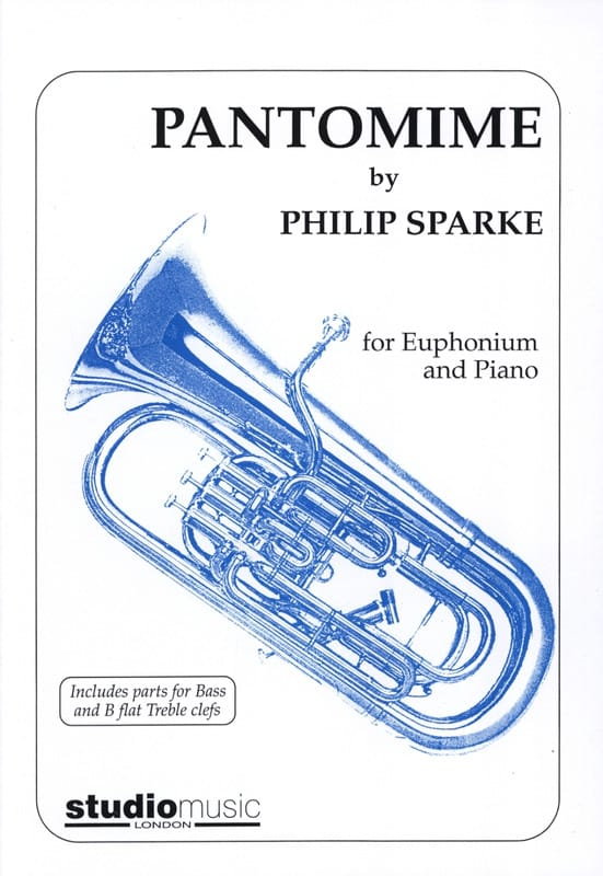 Philip Sparke - Pantomime - Partition - di-arezzo.co.uk