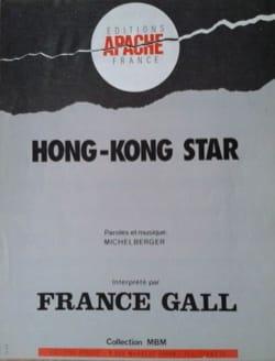 Hong-Kong Star - France Gall - Partition - laflutedepan.com