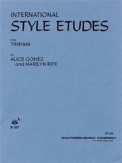 International Style Etudes Volume 1 - Alice Gomez - laflutedepan.com