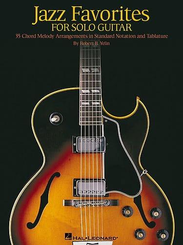 Jazz Favorites For Solo Guitar - Partition - laflutedepan.com