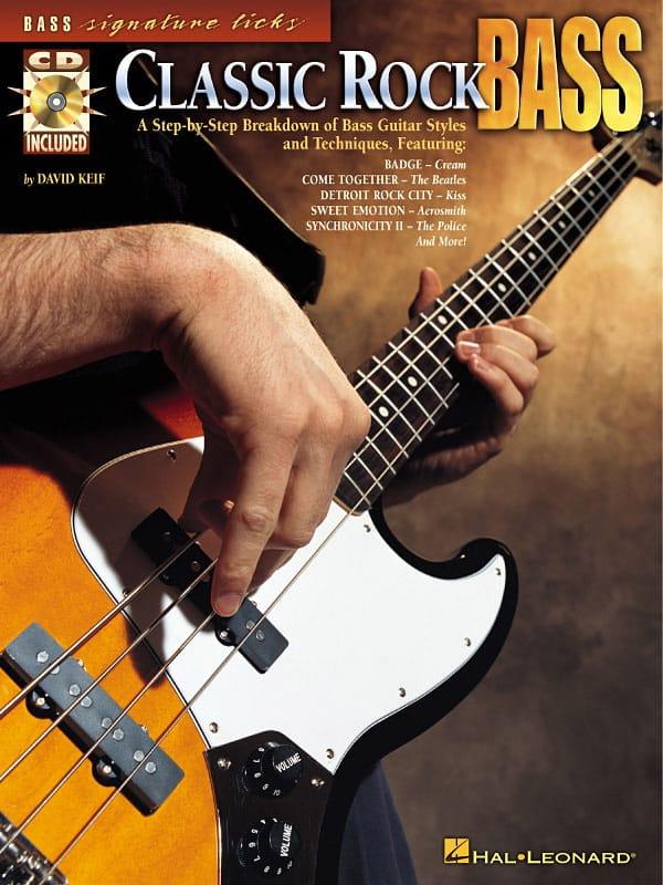 Classic Rock Bass - Partition - Guitare - laflutedepan.com