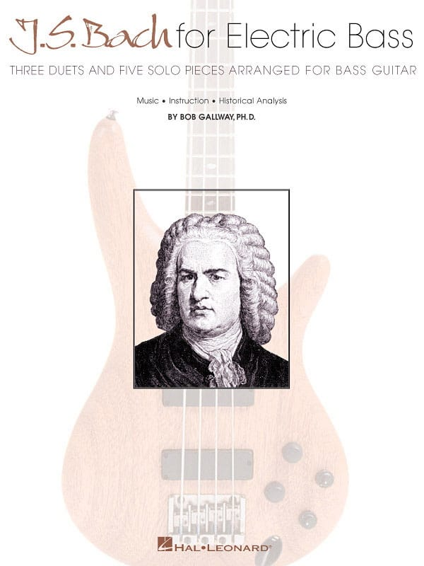 BACH - J.S Bach For Electric Bass - Partition - di-arezzo.fr