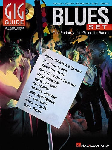 Gig Guide - Blues Set - Partition - Jazz - laflutedepan.com