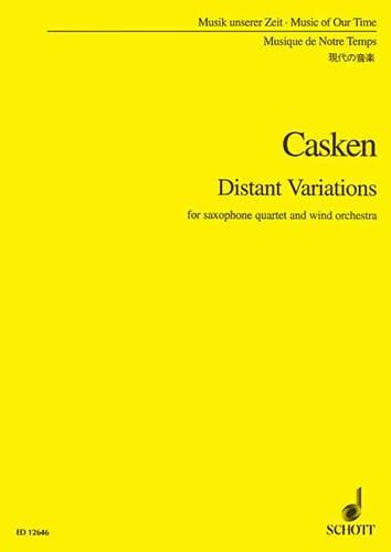Distant Variations - Conducteur - John Casken - laflutedepan.com