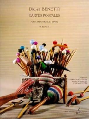 Cartes Postales Volume 1 - Didier Benetti - laflutedepan.com