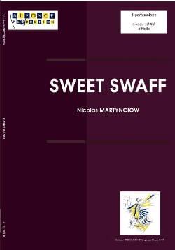 Nicolas Martynciow - Sweet Swaff - Partition - di-arezzo.co.uk