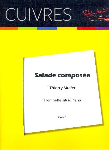 Thierry Muller - Salade Composée - Partition - di-arezzo.fr