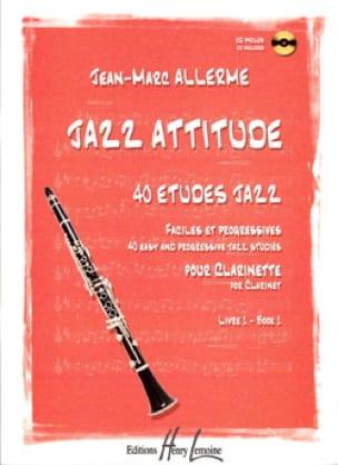 Jean-Marc Allerme - Jazz Attitude Book 1 - Partition - di-arezzo.co.uk