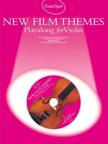 Guest Spot - New Film Themes Playalong For Violon - laflutedepan.com