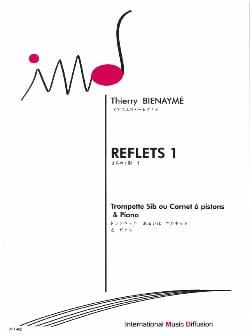 Reflets 1 - Thierry Bienaymé - Partition - laflutedepan.com
