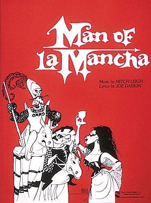 Mitch Leigh - Man of the Mancha - Vocal Score - Partition - di-arezzo.co.uk