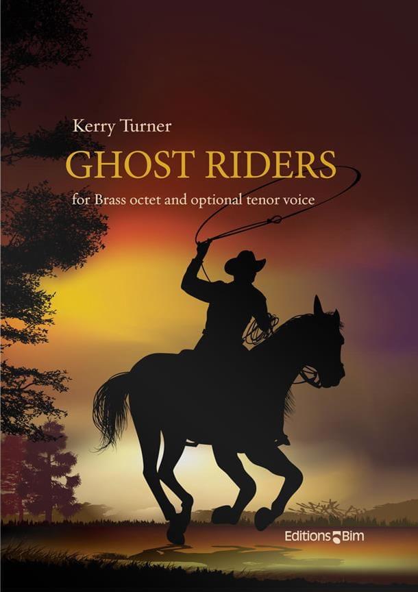 Ghost Riders - Kerry Turner - Partition - laflutedepan.com