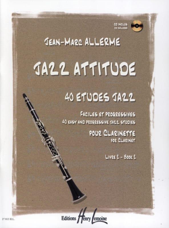 Jean-Marc Allerme - Jazz Attitude Book 2 - Partition - di-arezzo.com