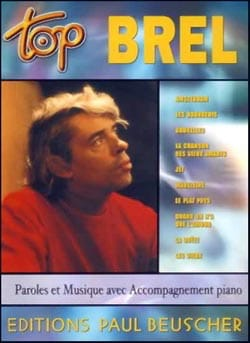Jacques Brel - Top Brel - Partition - di-arezzo.es