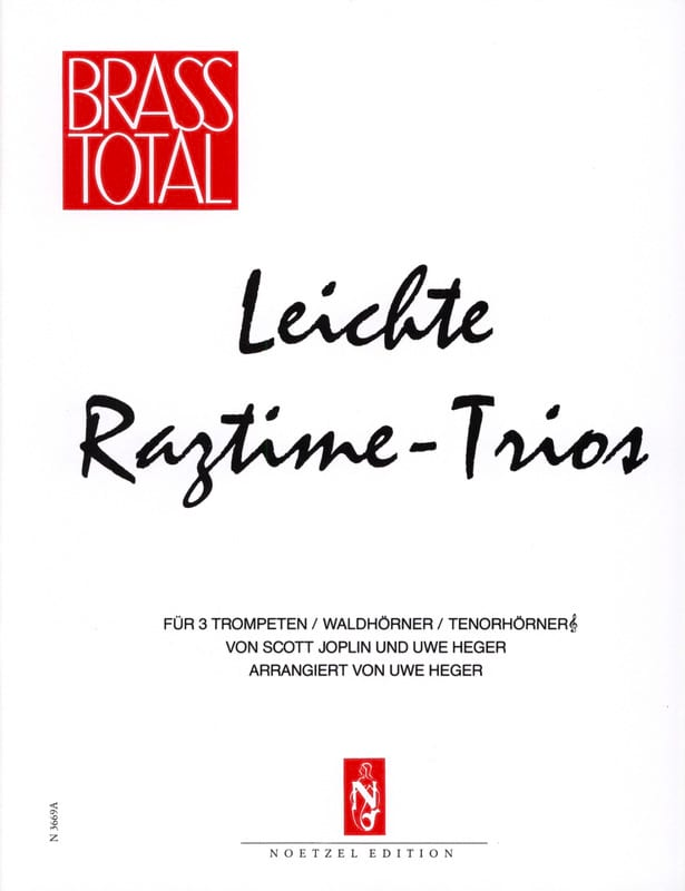 Scott Joplin - Leichte Ragtime-Trios - Partition - di-arezzo.es