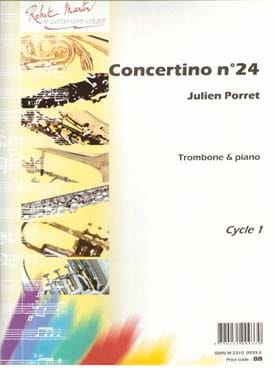 Julien Porret - Concertino N ° 24 - Partition - di-arezzo.com