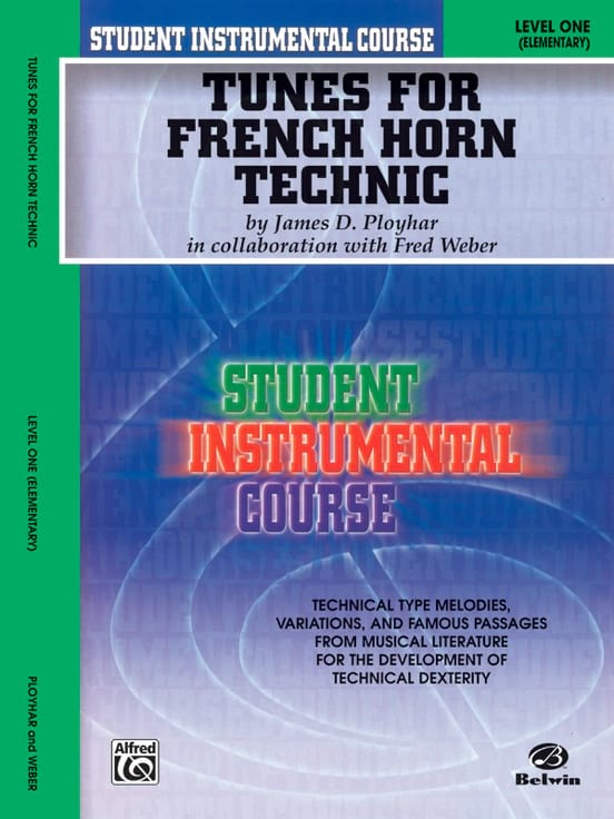 Tunes For French Horn Technic - Level 1 - laflutedepan.com