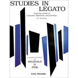 Studies In Legato - Partition - Trombone - laflutedepan.com