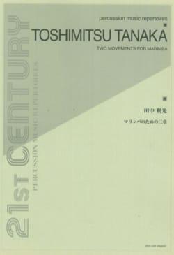 Two Movements For Marimba - Toshimitsu Tanaka - laflutedepan.com