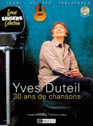 30 Ans de Chanson - Yves Duteil - Partition - laflutedepan.com