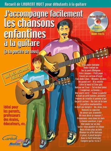 J'accompagne facilement les chansons enfantines à la guitare - laflutedepan.com