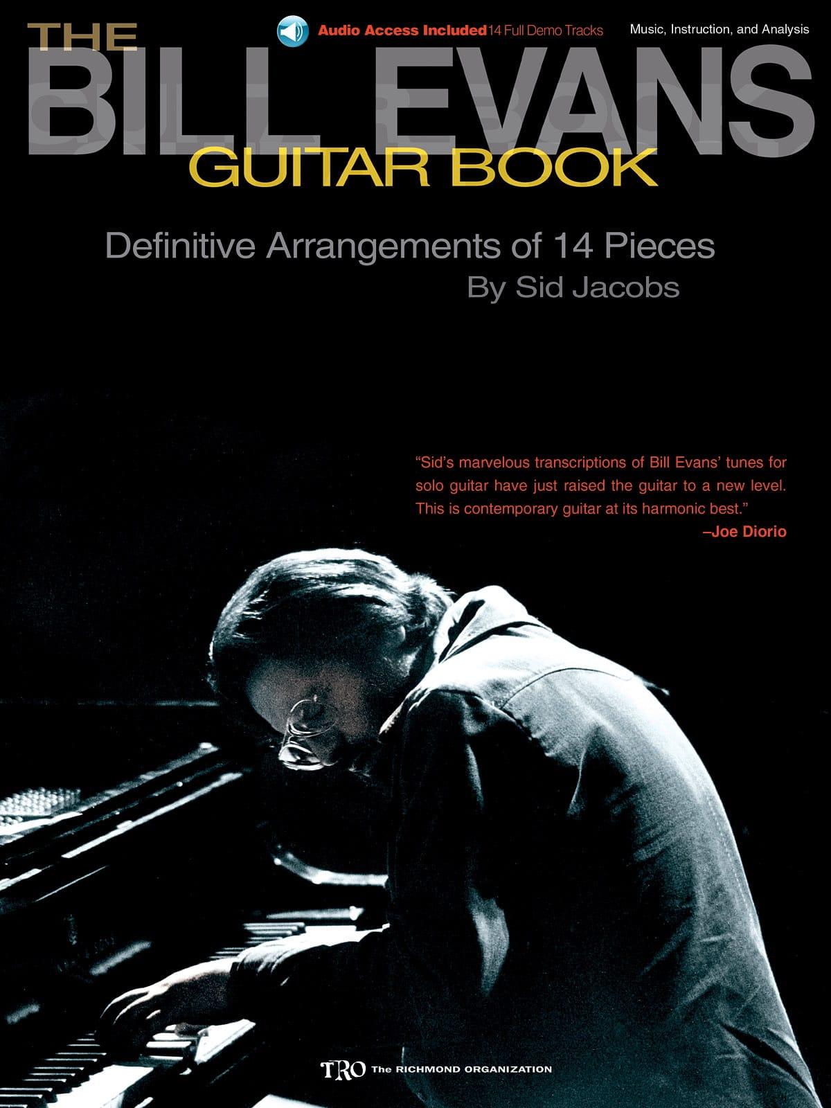 The Bill Evans Guitar Book - Bill Evans - Partition - laflutedepan.com