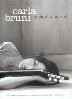 Carla Bruni - Someone told me - Partition - di-arezzo.co.uk