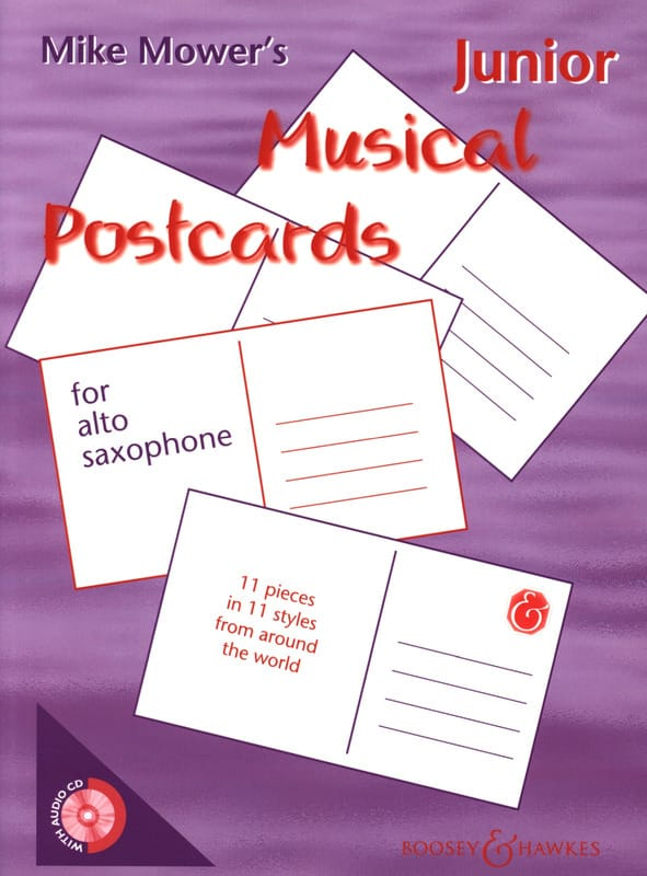 Junior Musical Postcards - Mike Mower - Partition - laflutedepan.com