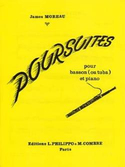 Poursuites - James Moreau - Partition - Tuba - laflutedepan.com