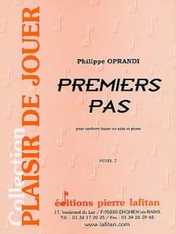 Premiers Pas - Philippe Oprandi - Partition - Tuba - laflutedepan.com
