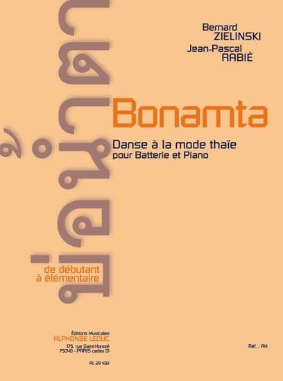 Zielinski Bernard / Rabié Jean-Pascal - Bonamta - Partition - di-arezzo.co.uk