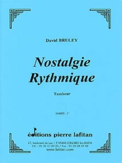 Nostalgie Rythmique - David Bruley - Partition - laflutedepan.com