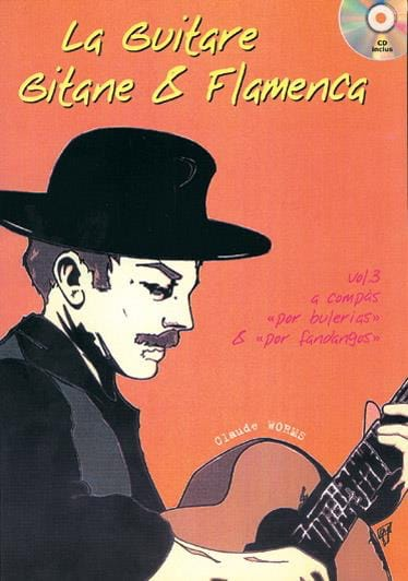 Claude Worms - The Gypsy Guitar - Flamenca Volume 3 - Partition - di-arezzo.com