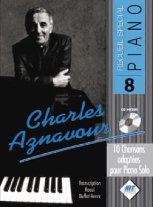 Charles Aznavour - Special Piano Collection N ° 8 - Partition - di-arezzo.com