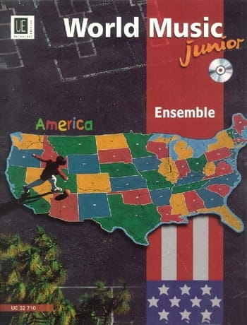 World Music America Ensemble Junior - Partition - laflutedepan.com