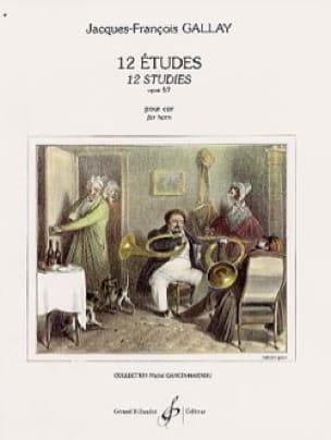 Jacques-François Gallay - 12 Etudes Opus 57 - Second Cor - Partition - di-arezzo.fr