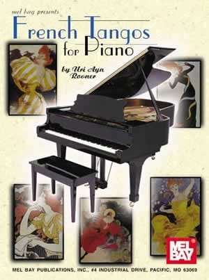 French Tangos For Piano - Partition - laflutedepan.com