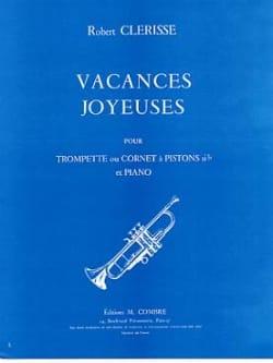 Vacances Joyeuses - Robert Clerisse - Partition - laflutedepan.com