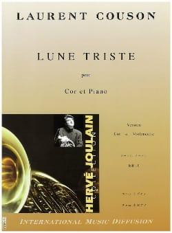 Lune Triste - Laurent Couson - Partition - Cor - laflutedepan.com