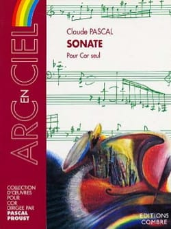 Claude Pascal - Sonata For Cor Only - Partition - di-arezzo.co.uk