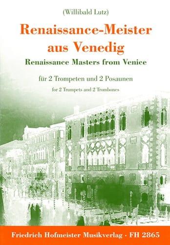 - Renaissance-Meister Aus Venedig - Partition - di-arezzo.fr